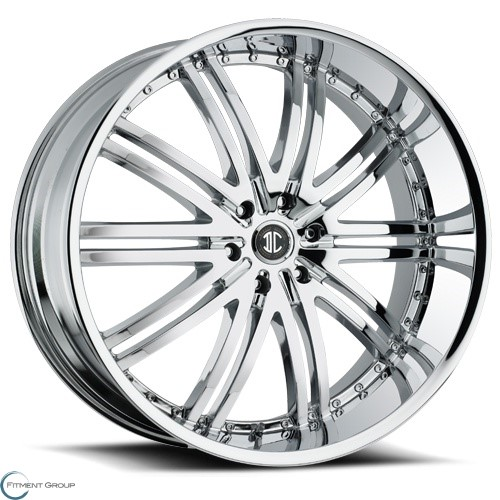 2 Crave Alloys No11 Chrome 22x9.5 6x135 ET30 CB87