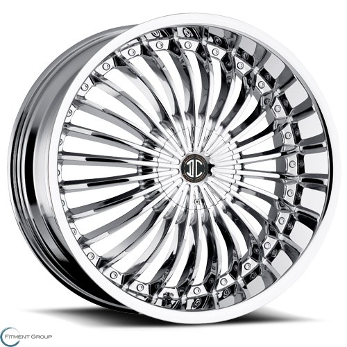 2 Crave Alloys No13 Chrome 20x8 5x105 ET40 CB72.56