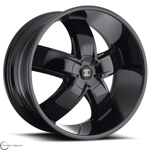 2 Crave Alloys No18 Glossy Black 20x9.5 5x114.3 ET30 CB78.3