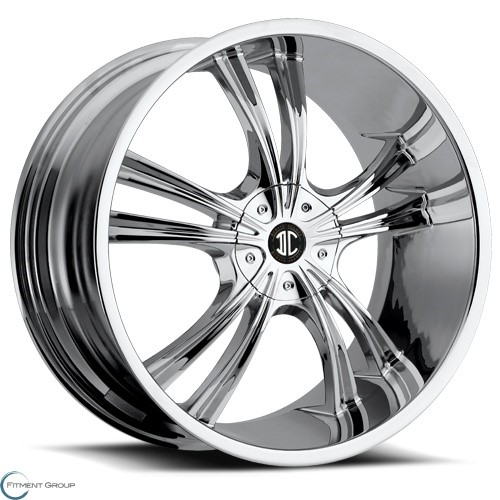 2 Crave Alloys No2 Chrome 17x7.5 5x114.3 ET40 CB72.56