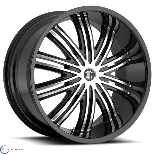 2 Crave Alloys No7 Glossy Black - Machined Face 20x9.5 5x120 ET30 CB78.3