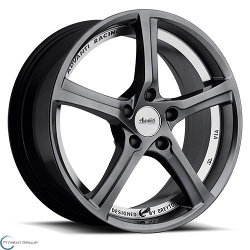 Advanti Wheels 15 - 15th Anniversary Hyper Dark with Undercut 18x8 5x120 ET35 CB73