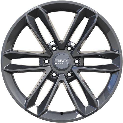 Envy Wheels Apollo Q Gloss Gun Metal 20x8.5 6x139.7 ET25 CB78.1