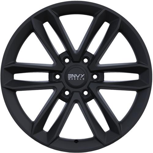 Envy Wheels Apollo Q Satin Black 20x8.5 6x135 ET25 CB87.1