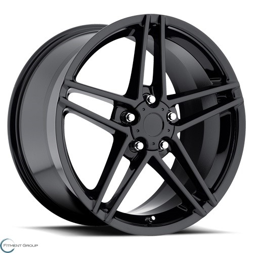 Factory Reproductions Style 10 Gloss Black 17x8.5 5x120.65 ET56 CB70.3
