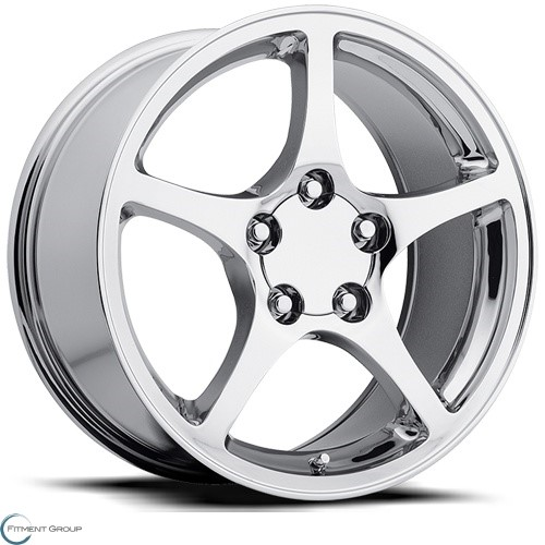 Factory Reproductions Style 20 Chrome 17x8.5 5x120.65 ET56 CB70.3