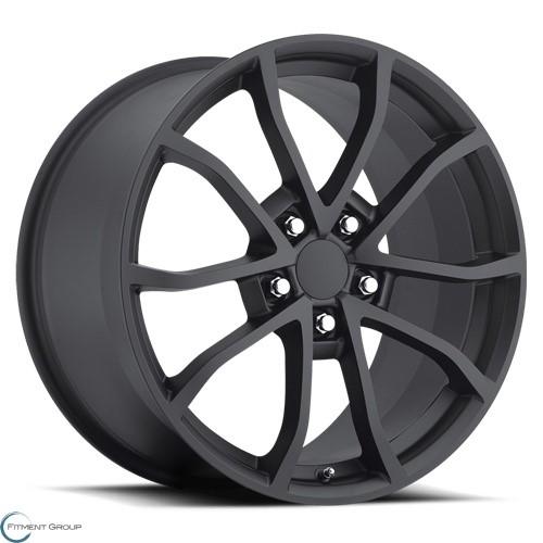 Factory Reproductions Style 25 Satin Black 17x8.5 5x120.65 ET56 CB70.3