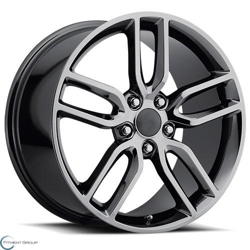 Factory Reproductions Style 26 Black Chrome 19x8.5 5x120.65 ET56 CB70.3