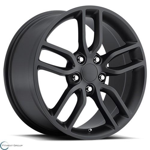 Factory Reproductions Style 26 Satin Black 17x8.5 5x120.65 ET56 CB70.3