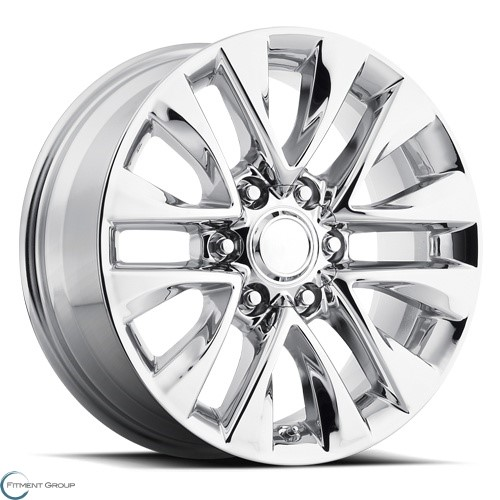 Factory Reproductions Style 86 PVD Chrome 18x7.5 6x139.7 ET25 CB106