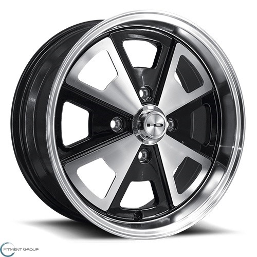 HD Wheels 914 Black 17x7 4x130 ET40 CB80.9
