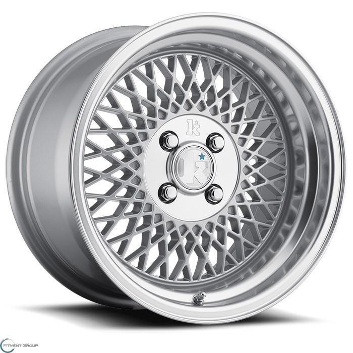 Klutch SL1 Silver 15x8.5 4x100 ET17 CB73.1
